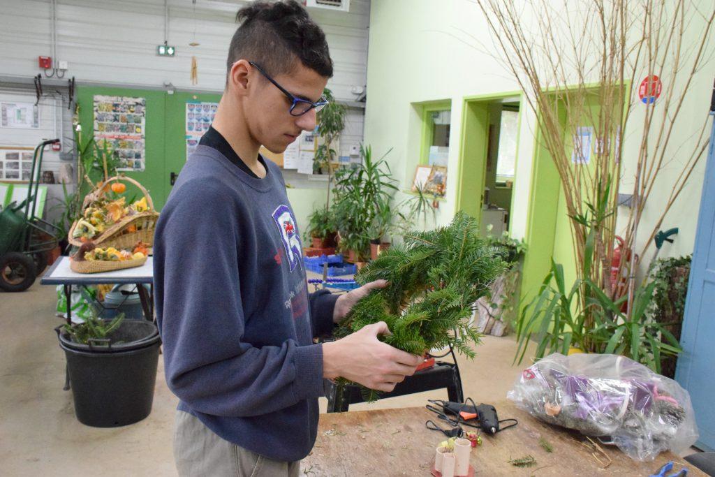 Atelier horticulture - Institut Perdrizet