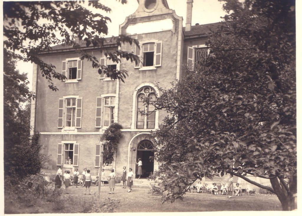 La maison de vacances pour les Unions chrétiennes de jeunes filles en 1936
