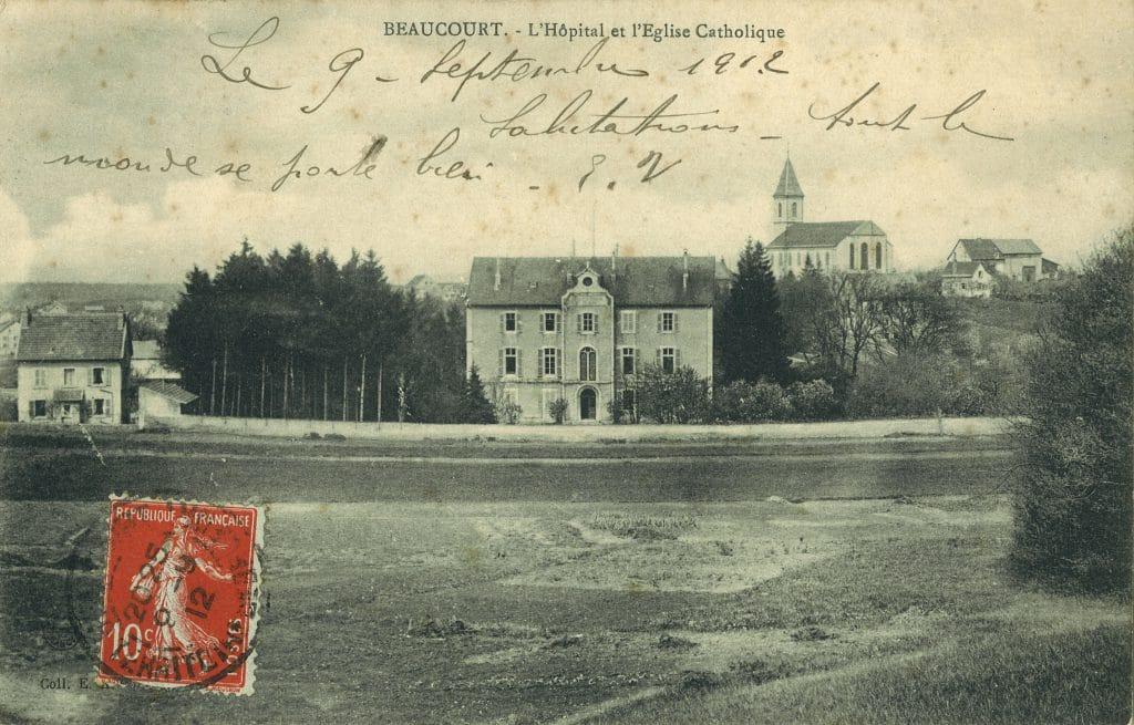 carte postale de la Maison Blanche
