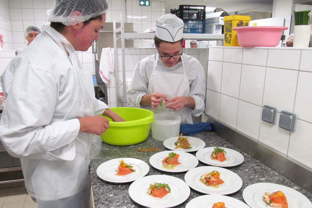 Cuisine _ Restaurant Institut Perdrizet