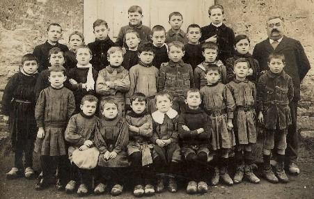 Les tabliers d'écoliers